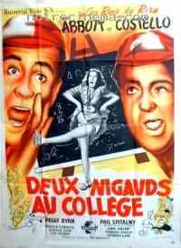 affiche  Deux nigauds au collège 264679