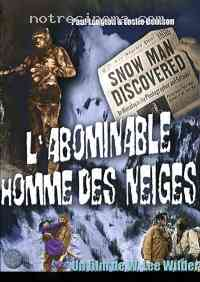 Poster L'Abominable homme des neiges 272289