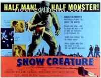 affiche  L'Abominable homme des neiges 272290