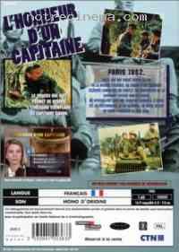 affiche  L'Honneur d'un capitaine 274329
