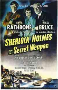 Poster Sherlock Holmes et l'arme secr�te 285561
