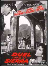 Poster Duel dans la Sierra 289451