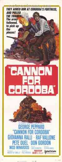 affiche  Les Canons de Cordoba 289877