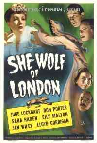Poster She-Wolf of London 290688