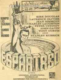 affiche  Spartacus 292059