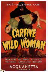 Poster Captive Wild Woman 294717
