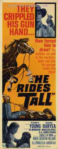 poster  He rides tall 294885