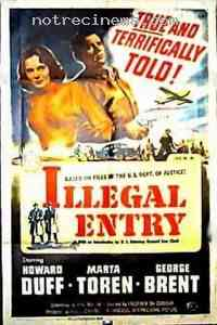 Poster Illegal entry 300504