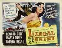 affiche  Illegal entry 300505