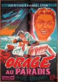 Poster Orage au paradis 305037
