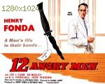 wallpapers Douze hommes en colère
