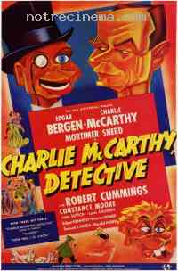 affiche  Charlie McCarthy, d�tective 306319