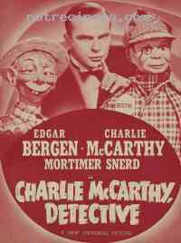 Poster Charlie McCarthy, d�tective 306321