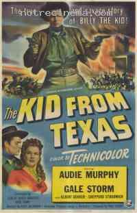 Poster Le Kid du Texas 309767
