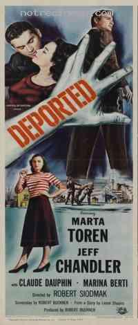 affiche  Le D�port� 311663