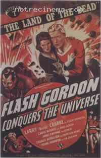 affiche  Flash Gordon conquers the universe 311847