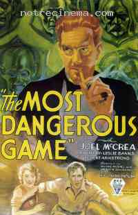 poster  The Most Dangerous Game 314676