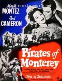 Poster Les Pirates de Monterey 320006
