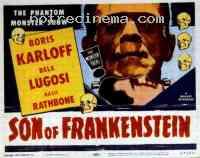 affiche  Le Fils de Frankenstein 40912