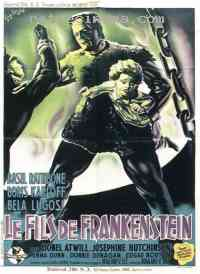 affiche  Le Fils de Frankenstein 40913