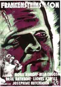 Poster Le Fils de Frankenstein 40914