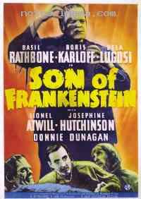 affiche  Le Fils de Frankenstein 40915