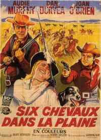 Poster Six chevaux dans la plaine 43210