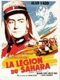 Poster La Légion du Sahara 44432