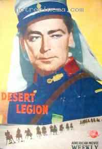 affiche  La L�gion du Sahara 44433