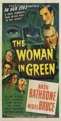 Poster La Femme en vert 45648