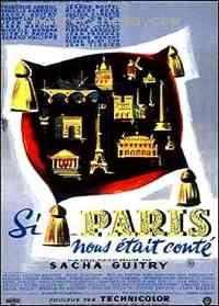 affiche  Si Paris nous était conté 46108
