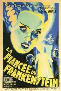 affiche  La Fiancée de Frankenstein 46696