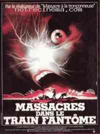 Poster Massacres dans le train fantôme 46795