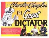 affiche  Le Dictateur 48460