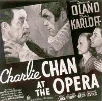wallpapers Charlie Chan à l'Opéra