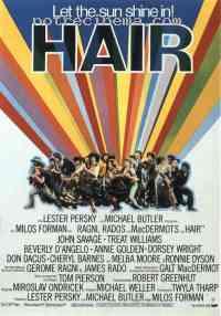 affiche  Hair 51362