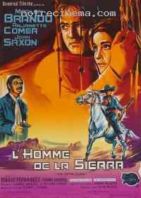 affiche  L'Homme de la Sierra 54590