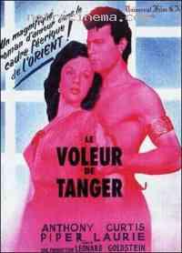 affiche  Le Voleur de Tanger 56778