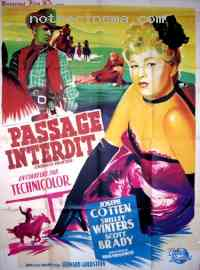 Poster Passage interdit 68495