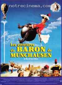 affiche  Les Aventures du baron de M�nchaussen 68668