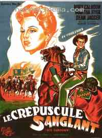 Poster Cr�puscule sanglant 72097