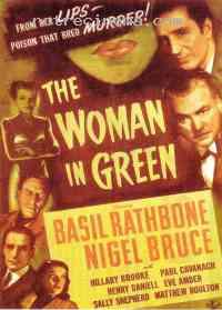 affiche  La Femme en vert 73279