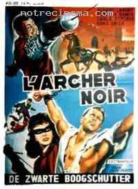 Poster L'Archer noir 74956