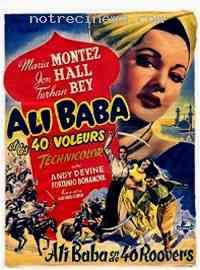 affiche  Ali Baba et les 40 Voleurs 75616