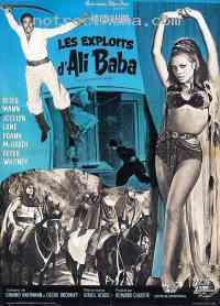 affiche  Les Exploits d'Ali Baba 76217