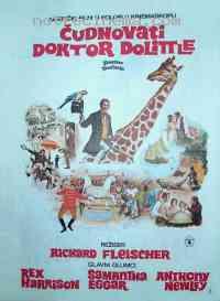 affiche  L'Extravagant Docteur Dolittle 77411