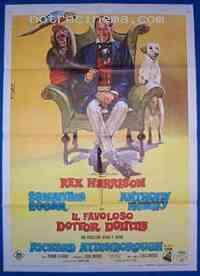 Poster L'Extravagant Docteur Dolittle 77412