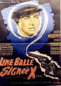 Poster Une balle signée X 78100