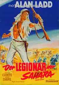 affiche  La Légion du Sahara 79073