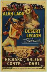 Poster La Légion du Sahara 79074